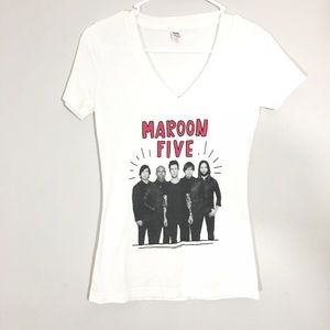 Maroon Five Band Graphic T-Shirt Size Small